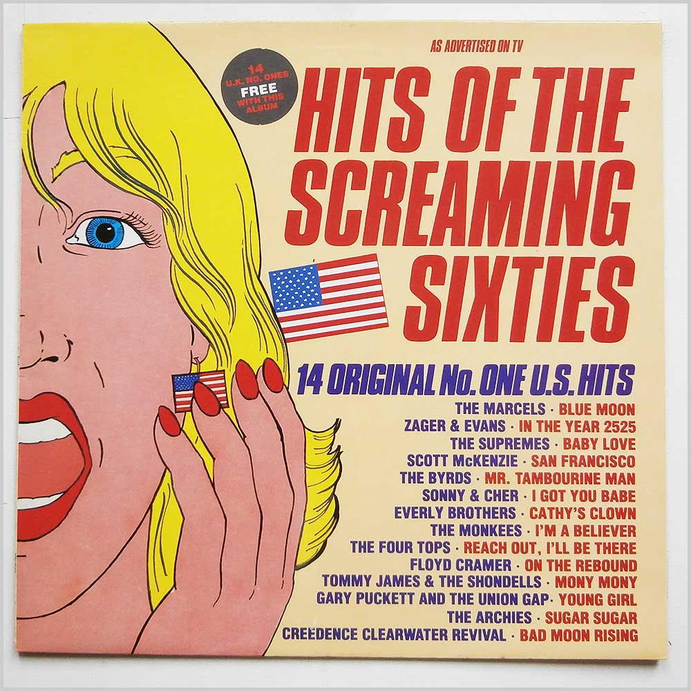 Various - Hits Of The Screaming Sixties (WW 5125)
