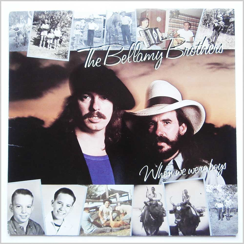 The Bellamy Brothers - When We Were Boys (XE1-60099)
