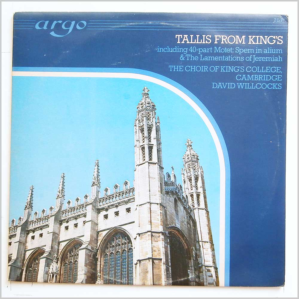 The Choir Of Kings College Cambridge Vinyl Record Classical
